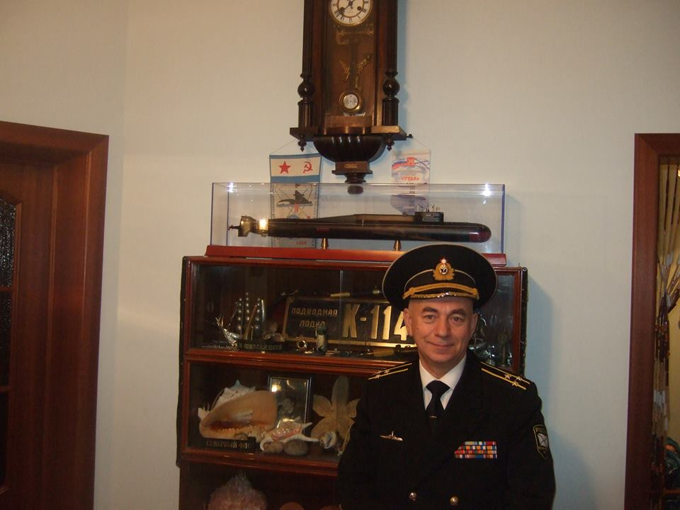 Chief Engineer, Nikolay Teplyakov